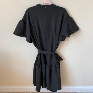 Eloquii Dresses - New! Eloquii flutter sleeve tie neck dress #565